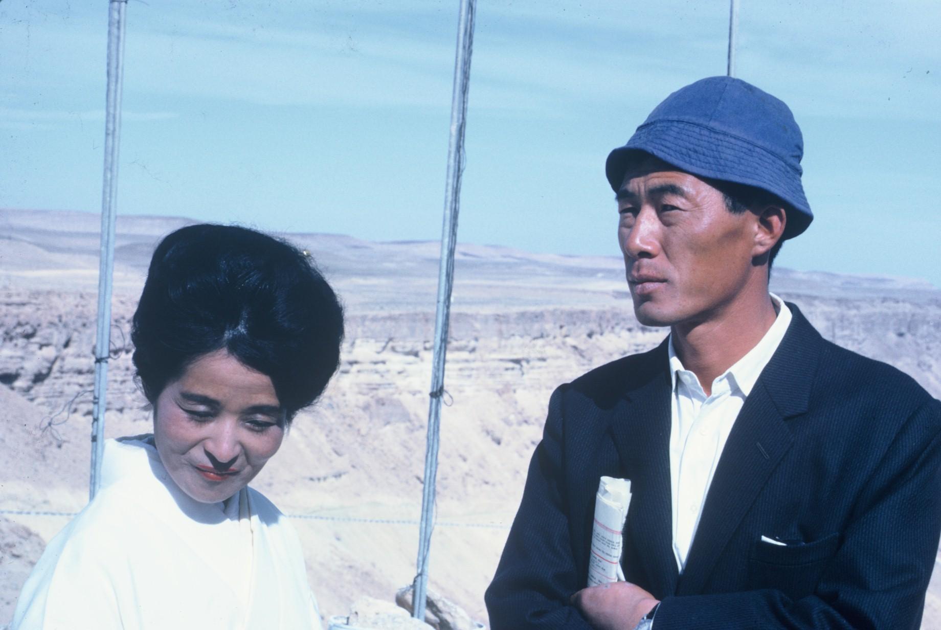 יסואו וקיוקו מיזוי   צילום: אורי וולטש