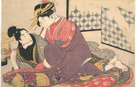 19.10.20 | אמנות ההדפסים הארוטים ביפן (Shunga): פורנוגרפיה זה עניין של גיאוגרפיה  | ד״ר שלמית בז'ראנו